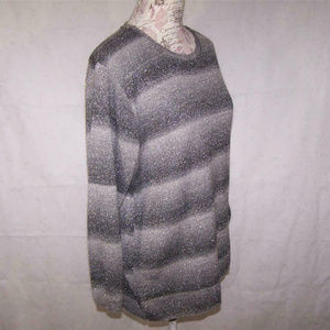 Alfred Dunner Sweaters - Alfred Dunner Womens 1X Sweater Gray Silver